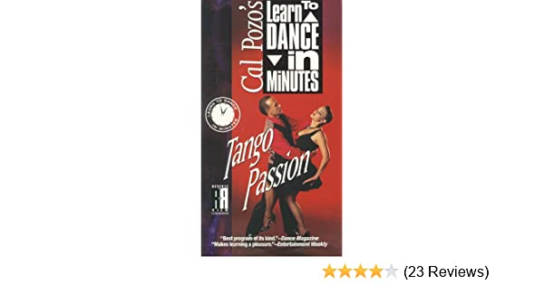 Amazon.com: Cal Pozos Learn to Dance in Minutes - Tango Passion [VHS]: Cal Pozo: Movies & TV