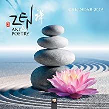 Zen Art & Poetry 2019 Square Wall Calendar