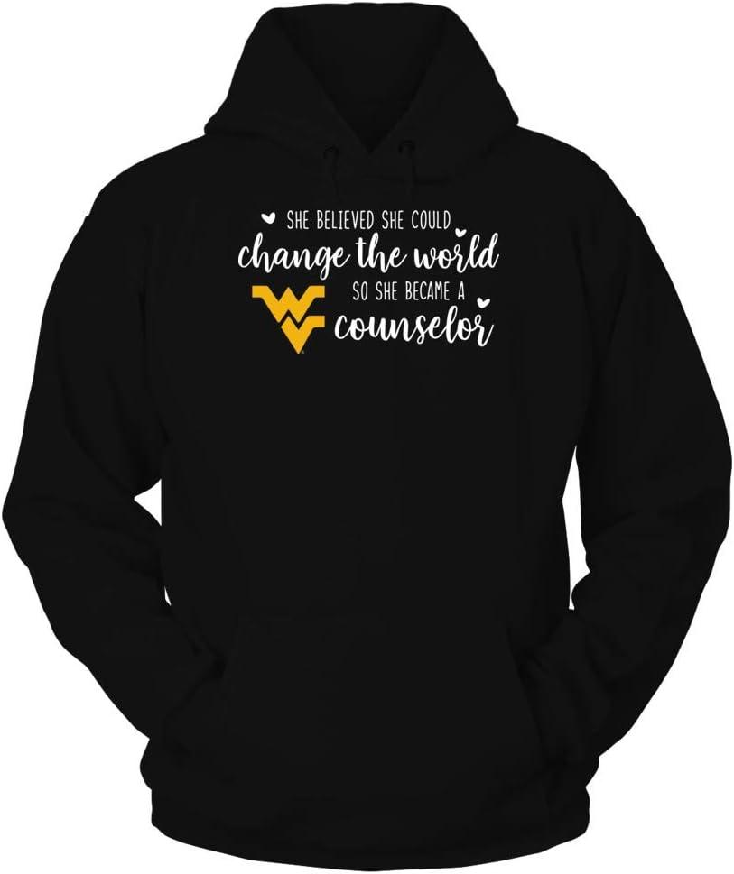 She Believed She FanPrint West Virginia Mountaineers T-Shirt