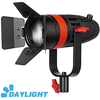 1 Pc CAME-TV Boltzen 55w Fresnel Focusable LED Daylight With Bag