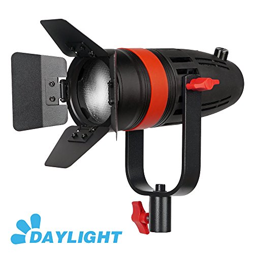 (1 Pc CAME-TV Boltzen 55w Fresnel Focusable LED Daylight With Bag)