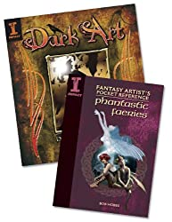 Drawing and Painting Fantasy Art with Bob Hobbs Books Bundle