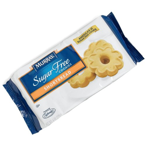 Murray, Sugar Free Cookies Shortbread, 6-Ounce Package (Pack of 4)
