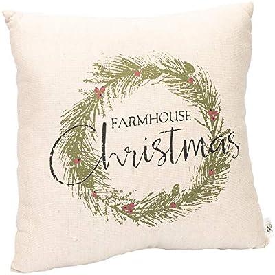 Amazon.com: Farmhouse - Cojín de felpa para Navidad, 4.7 x ...