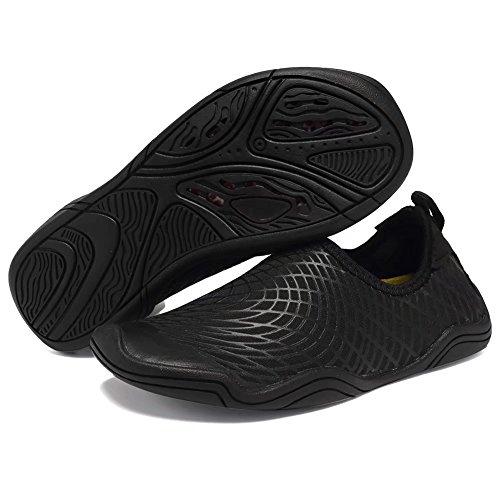 Cior Barn Vatten Skor Snabbtorkande Pojkar Och Flickor Slip-on Aqua Beach Sneakers (barn / Litet Barn / Big Kid) Jq.balck