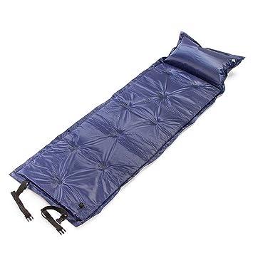 lujiaoshout Autoinflable Saco de Dormir para Interior y Exterior Uso Ultraligero y Compacto Bolsas Hacer Senderismo