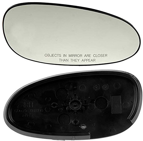 APDTY 67149 Side View Mirror Replacement Glass Fits Right (Passenger-Side) 2003-05 Buick Century (Replaces 88986368)