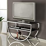 InRoom Designs K&B Furniture 38 in. TV Stand For Sale