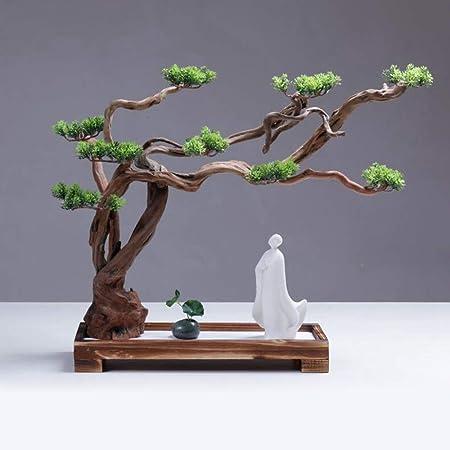 Hjyi Meditación Zen Garden,Jardin Zen Montaña Seca Agua Paisajismo Arena Fina Japonesa Zen Meditación Arte Escritorio Ornamento Mesa de Arena Micro Paisaje Feng Shui Yoga Decoració: Amazon.es: Hogar