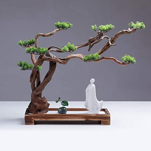 Hjyi Meditación Zen Garden,Jardin Zen Montaña Seca Agua Paisajismo ...
