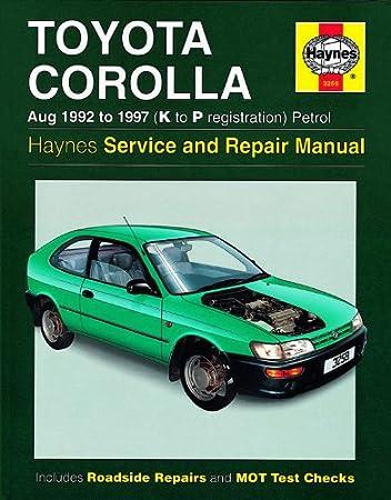 haynes manual toyota corolla 1990 simple instruction guide books u2022 rh catsmile co repair manual toyota corolla 1997 torrent repair manual toyota corolla 1990