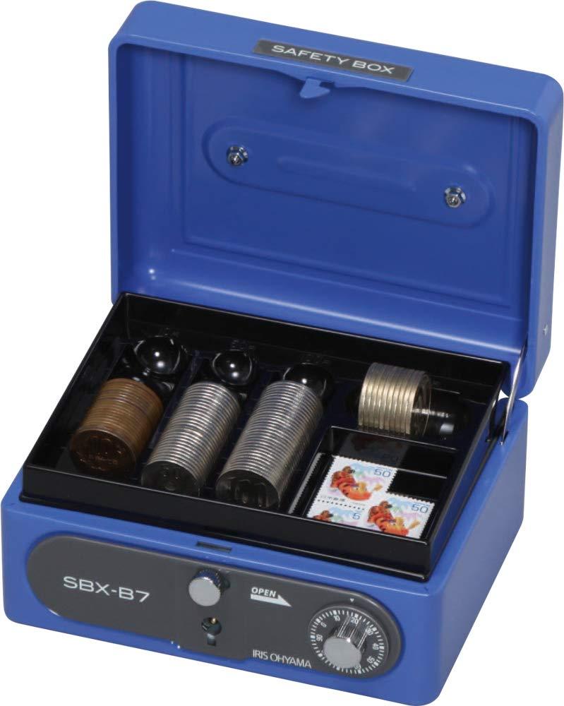 Iris Cash Boxes B7 Blue SBX-B7