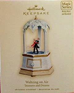 Hallmark Keepsake Christmas Ornament - Treasures and Dreams - Waltzing on Air - 2007
