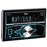 BOSS 820BRGB Bluetooth, Double Din, MP3/USB/SD AM/FM Receiver