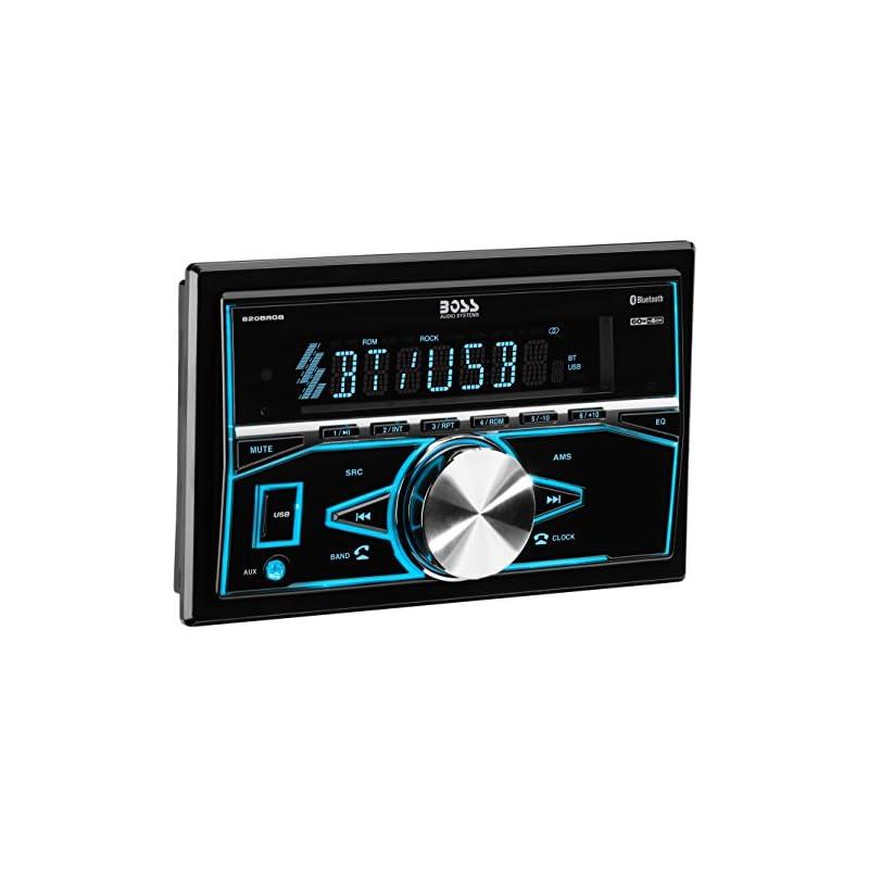 BOSS Audio 820BRGB Car Stereo - Double D