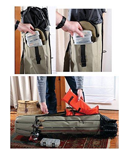 LTD FBA_4659 Heavy Duty Fishing Rod Travel Carry Case Bag