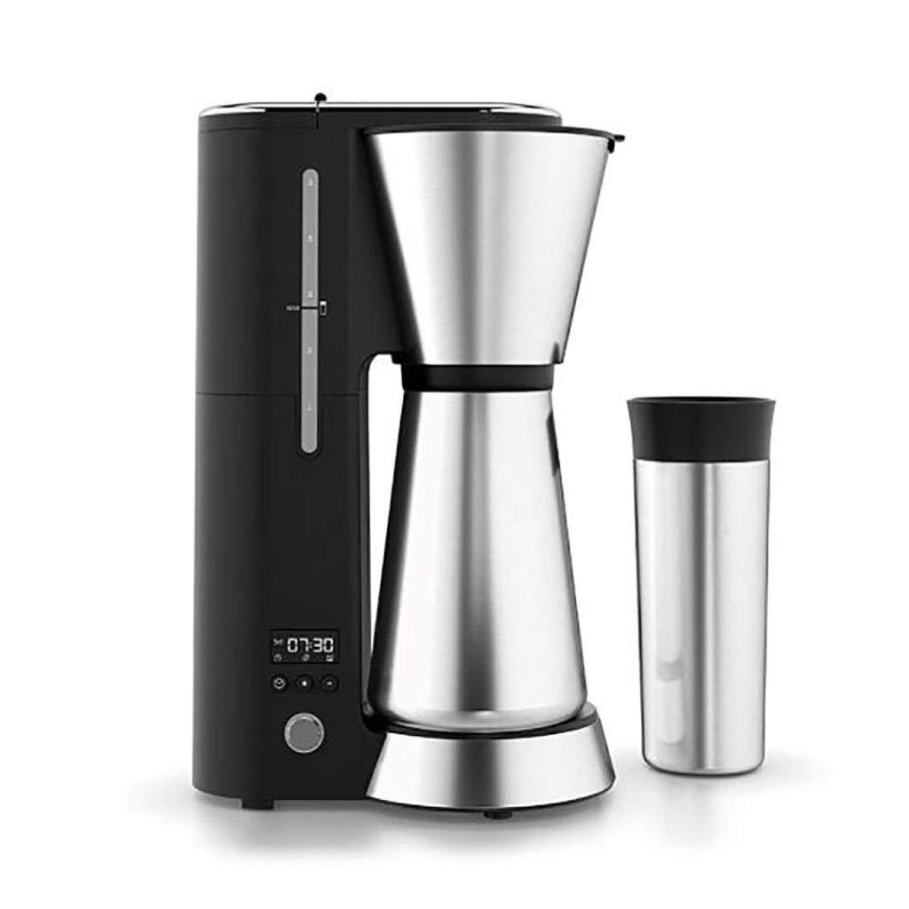 コーヒーメーカーは、自動ドリップ式アメリカンコーヒーメーカーにコーヒーカップを添えて予約することができます   B07NSRY2SC