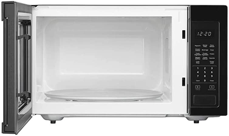 Amazon.com: Whirlpool 1.6 Cu Ft. En color negro de ...