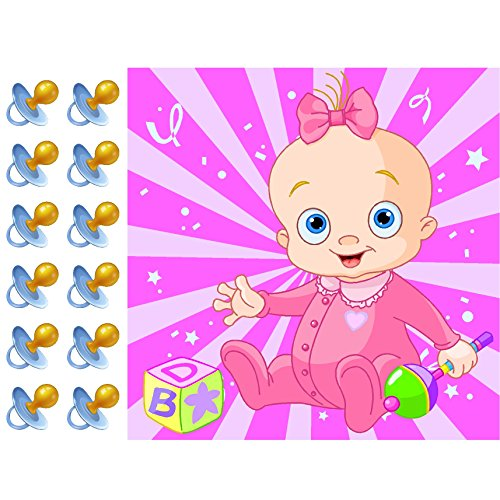 Pacifier Baby Shower Party Accessory