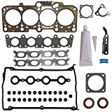 Head Gasket Set Kit Engine Cylinder Fit HS26182PT S71193 for Audi A4 Base Cabriolet TT Quattro Volkswagen VW Beetle GL GLS GLX Golf GTI Jetta GLI Passat 1997-2002 2003 2004 2005 2006 by DOICOO