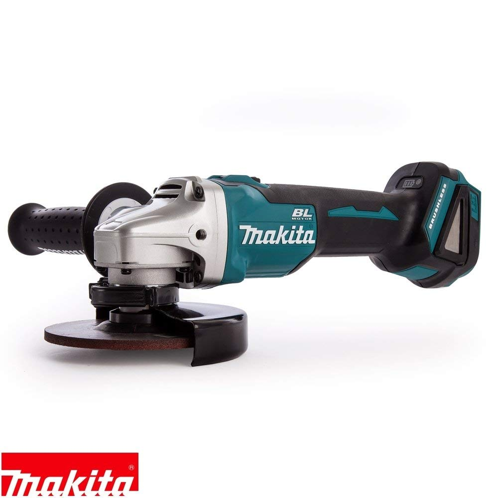 Makita DGA506Z 18V Brushless Angle Grinder 125mm with 1 x 5Ah Battery