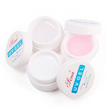 Amazon.com : New Professional White / Pink / Clear Color Builder ...