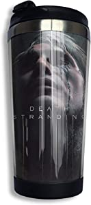 Death Stranding 13.5 Oz Double Layer Vacuum Insulated Travel Mug/Coffee Cup
