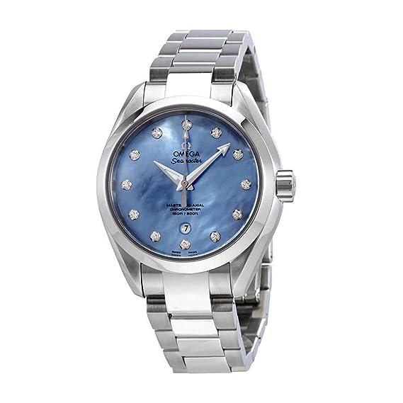 Omega Seamaster Aqua Terra Lavender - Reloj para Mujer con Esfera de nácar 231.10.34.20.57.002: Amazon.es: Relojes