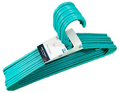 UPC 073527161684, Adult Plastic Hangers - Packs of 10 - Teal Splash Colored