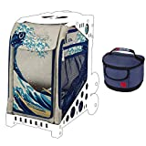 ZUCA Great Wave Sport Insert Bag (Frames Sold Separately) and Matching Lunchbox Kit