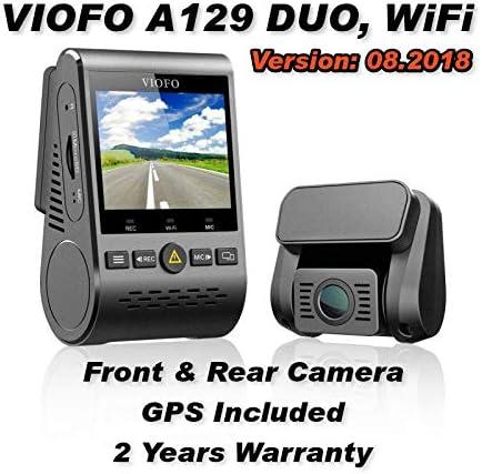 Viofo A129 Duo Dual Channel Wifi Dash Kamera Uk Elektronik