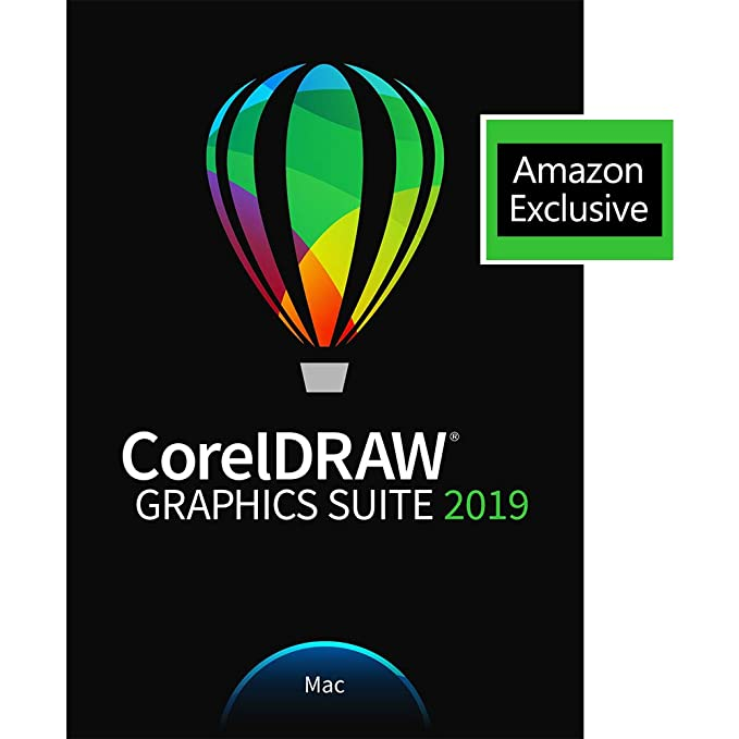CorelDRAW Graphics Suite 2019 with ParticleShop Brush Pack for Mac --  Amazon Exclusive [Mac Download]
