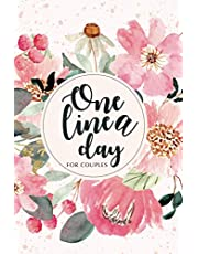 one line a day For couples: Diary Memory Journal for new Moms Dads couples Dated and Lined diary allows you to track the moments of your life day by day during 5 years
