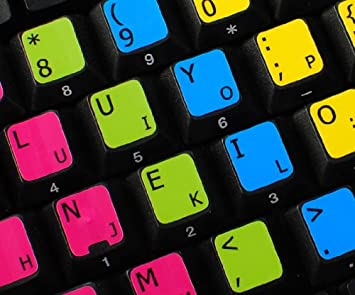 96f9e71c3ac LEARNING COLEMAK KEYBOARD LABELS: Keyboards, Mice & Input Devices:  Amazon.com.au