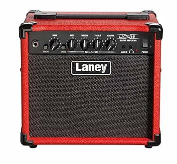 Amplis guitarra eléctrica Laney lx15 rojo Combos transistore y hybrides: Amazon.es: Instrumentos musicales
