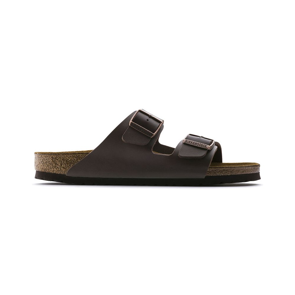 Birkenstock Women's Arizona  Birko-Flo Dark Brown Birko-flor Sandals - 43R EU (US Men EU's 10-10.5,US Women EU's 12-12.5) by Birkenstock