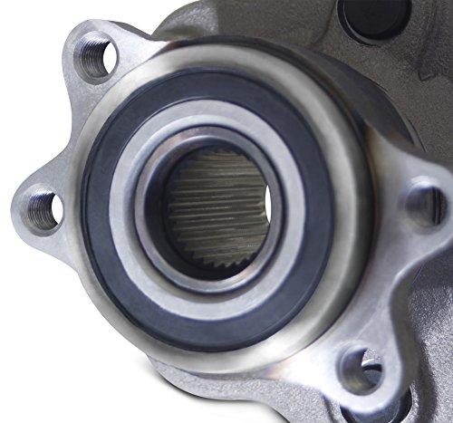 Tomegun 4 to 5 Lug Wheel Bearing Conversion Hub Rear Pair For 89-99 S13/S14 Nissan 240SX by Tomegun (Image #8)