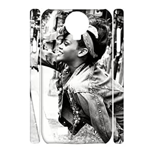 YYCASE Cell phone case Rihanna Hard 3D Case For Samsung Galaxy S4 i9500
