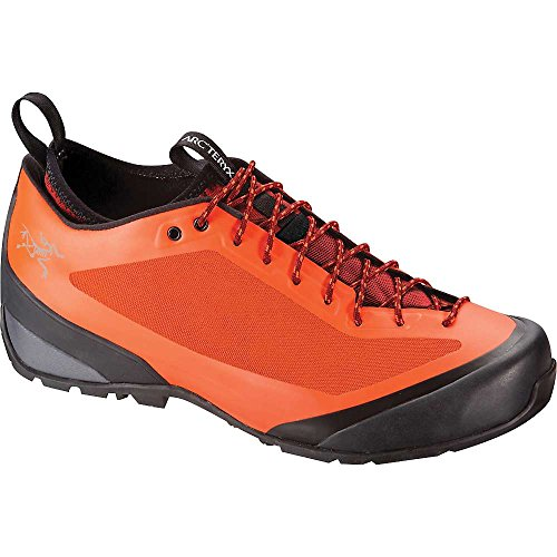 Price comparison product image Arcteryx Acrux FL Approach Shoe - Men's Bright Flame / Toolbox 10.5 US