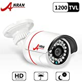ANRAN 1200TVL SONY IMX138 CMOS Sensor High Resolution 24IR LEDs Color Day Night Vision Infrared Security Waterproof Outdoor/ Indoor Bullet Surveillance CCTV Camera 3.6mm Wide Angel For Sale