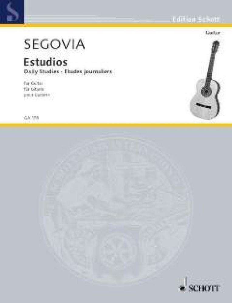 Estudios. Gitarre