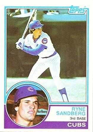 1983 Topps Baseball 83 Ryne Sandberg Rookie Card