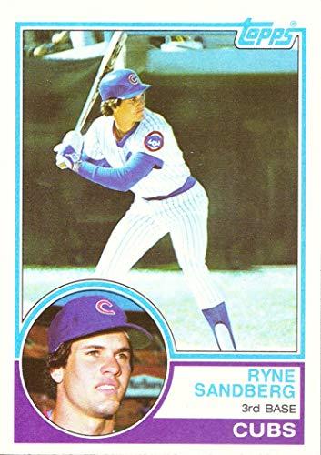 1983 Topps Baseball #83 Ryne Sandberg Rookie Card
