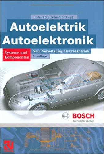 Autoelektrik/Autoelektronik Bosch Fachinformation Automobil: Amazon ...