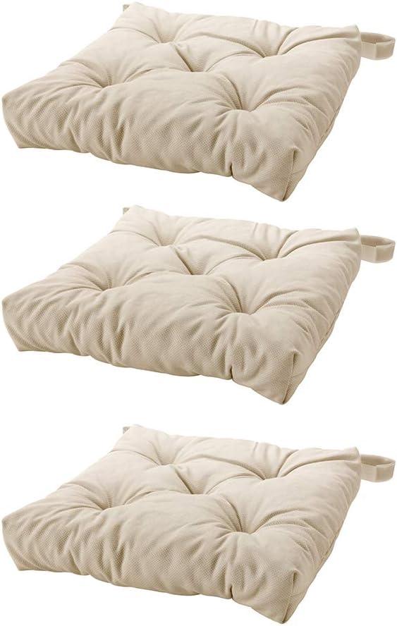 Ikea s MALINDA Chair cushion 3, Light Beige