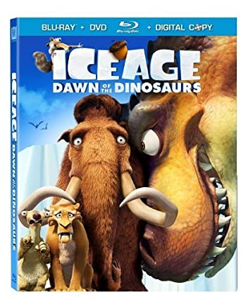 Amazon Com Ice Age Dawn Of The Dinosaurs Blu Ray Dvd Digital Copy By 20th Century Fox Movies Tv