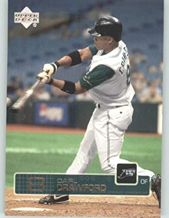 Amazoncom 2003 Upper Deck Baseball Card 297 Carl Crawford