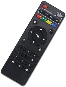 Mando a distancia universal apto para Android TV Box H96 MAX/V88/MXQ/TX6/T95X/T95Z Plus/TX3 X96 Mini mando a distancia de repuesto: Amazon.es: Electrónica