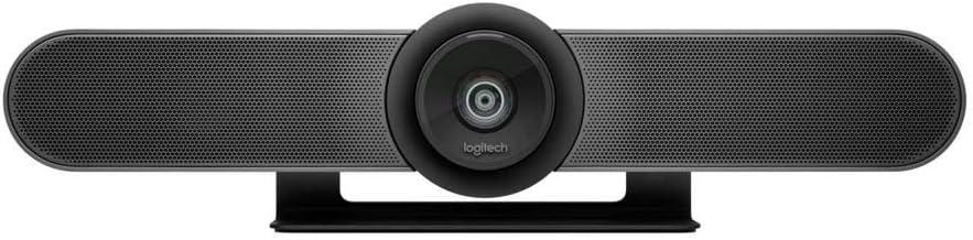 Logitech MeetUp Caméra 4K Ultra HD pour salles de conférence Noir