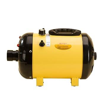 Vogvigo perro acicalado para mascotas secador secador calefacción Blaster, ambiente de temperatura ajustable y manguera flexible de temperatura Variable ...